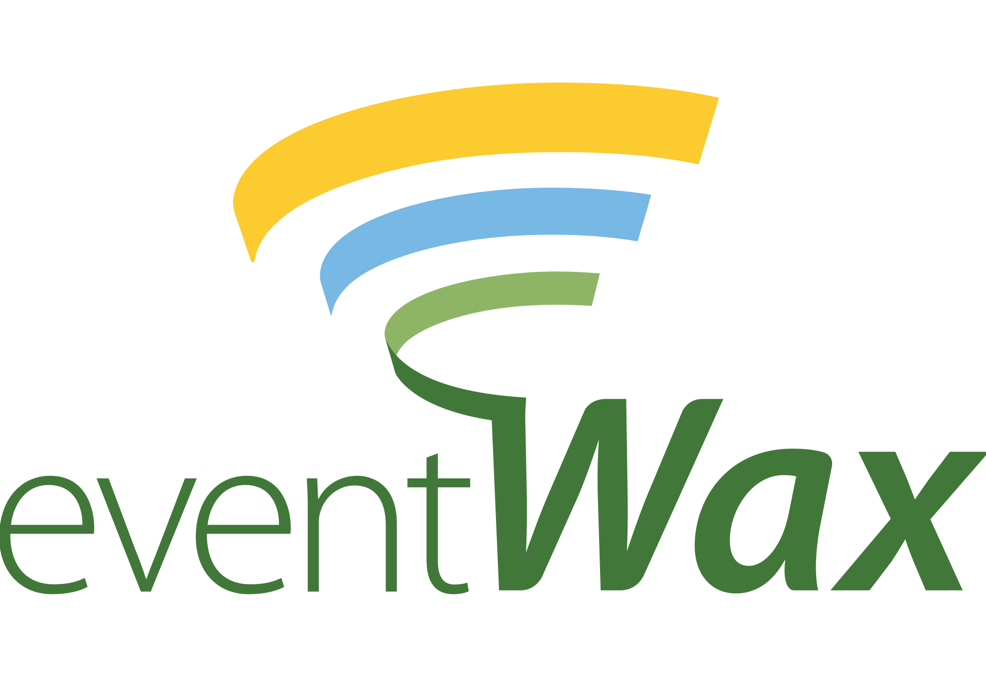 EventWax Logo Design