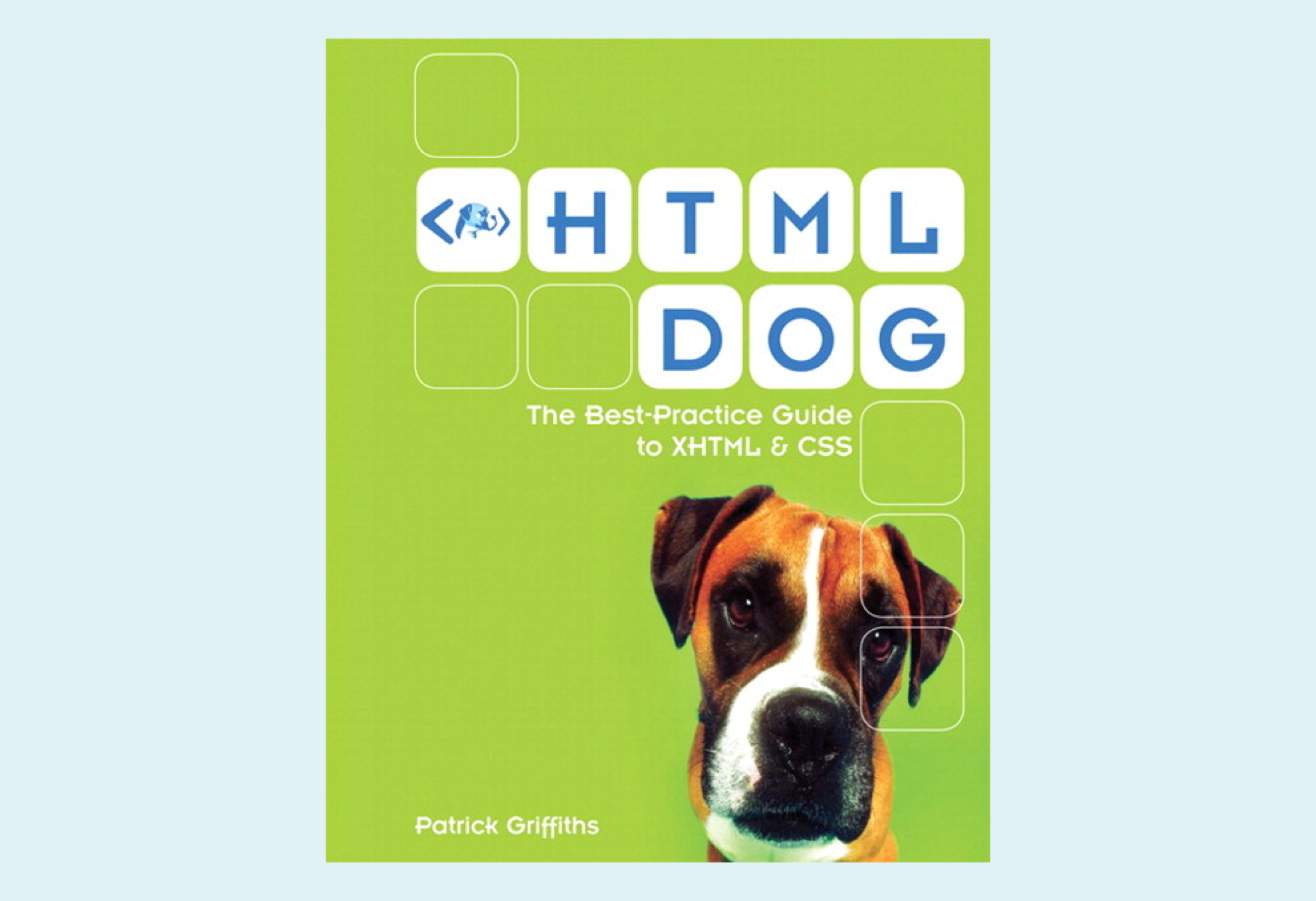 HTML Dog Logo Update