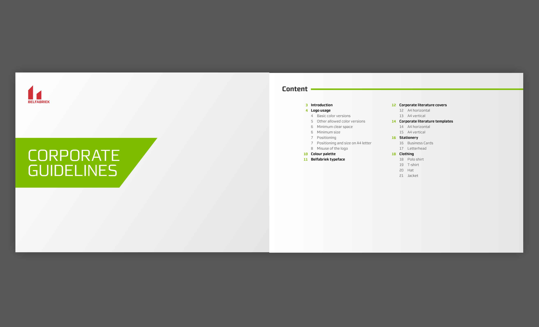 Belfabriek Brand Identity Guidelines